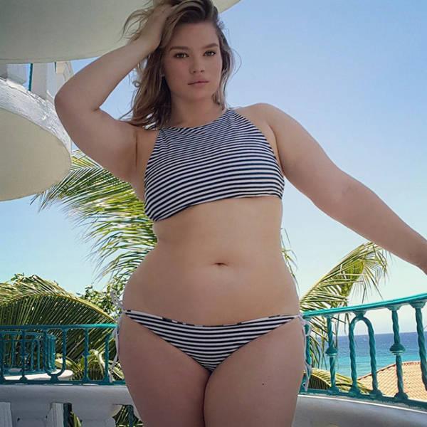 Красивые пышные девушки в теле