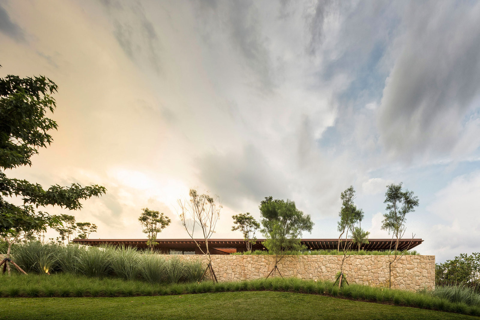 Частный слоистый дом в Бразилии