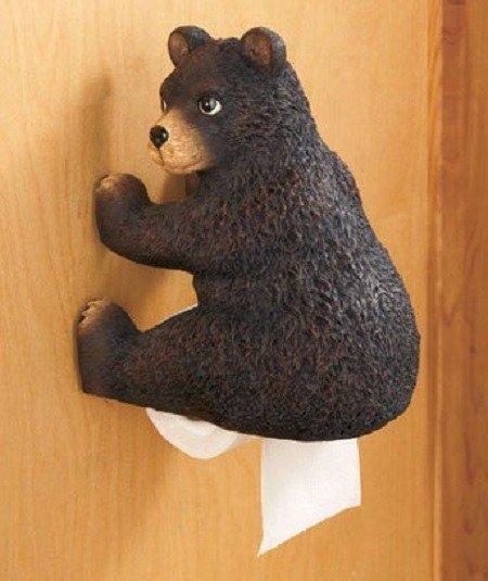 Необычные держатели для туалетной бумаги