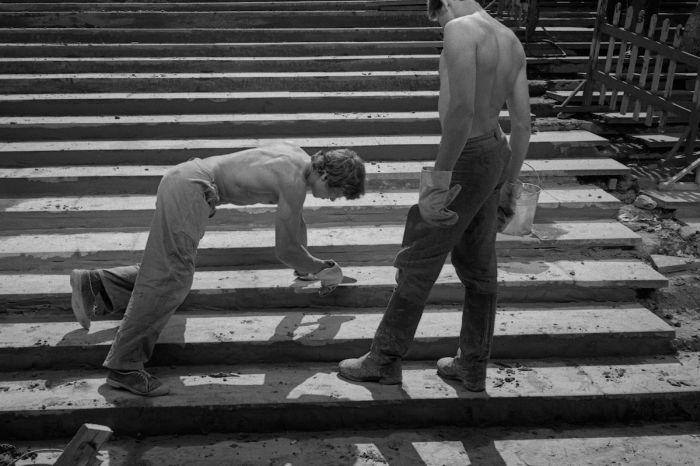 Советская Москва в объективе британского фотографа