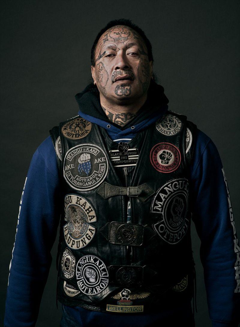 Суровые байкеры Новой Зеландии, промышляющие криминалом