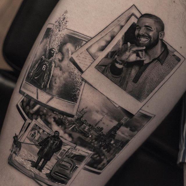 Бельгийский татуировщик работает как фотопринтер