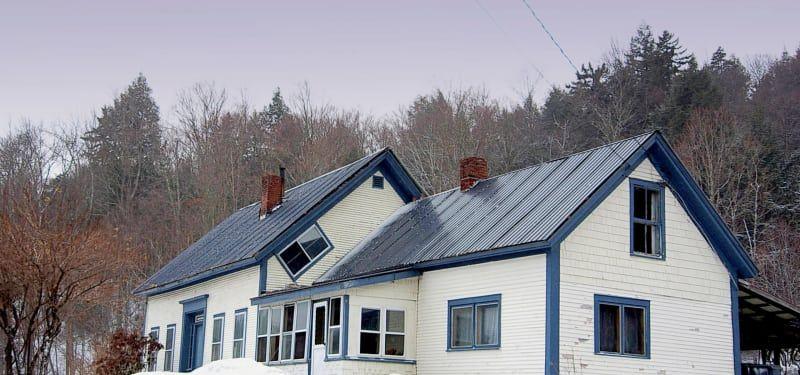 Почему в старых домах Вермонта есть окошки, расположенные наискосок