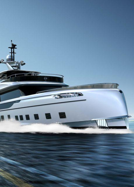 Роскошная яхта за 16 миллионов долларов от студии Porsche