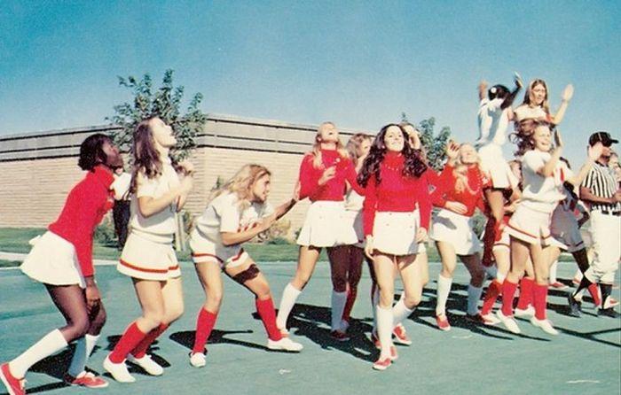 Американский чирлидинг США в 70-е - 80-е годы