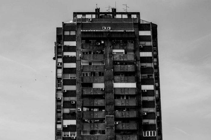 Архитектурный модернизм и брутализм Белграда
