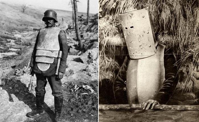 Бронекостюмы солдат Первой мировой войны