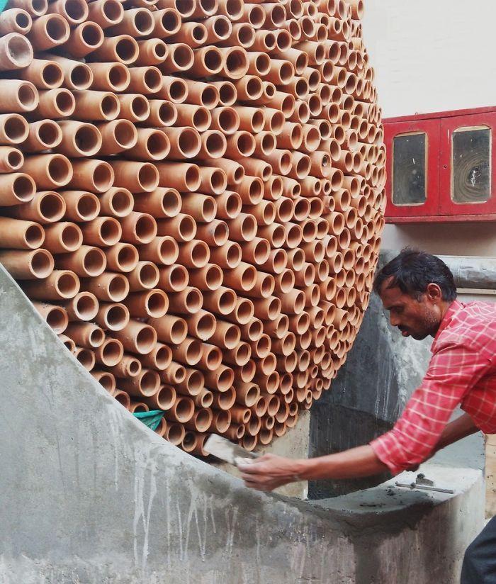 Индийские инженеры изобрели глиняный кондиционер