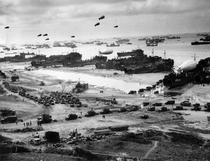 Места крупных сражений Второй мировой войны тогда и сейчас