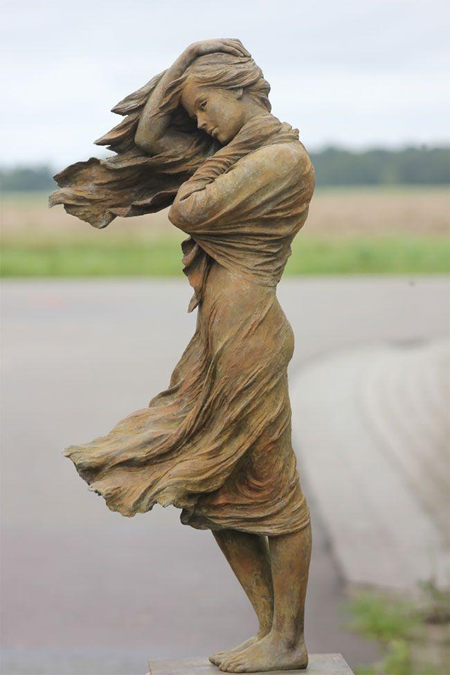 Восхитительные скульптуры женщин от китайской художницы
