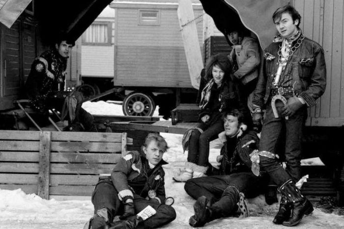 Хальбастарке - молодежная субкультура Швейцарии в 50 - 60 годы