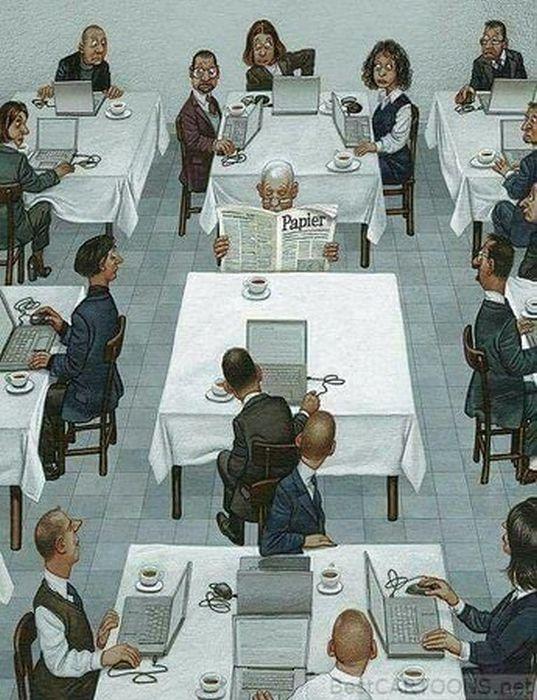 Рисунки со смыслом о современном мире