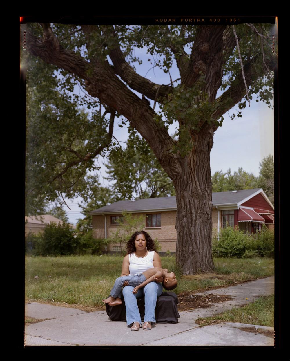 Фотопроект против полицейского насилия в отношении чернокожих мужчин