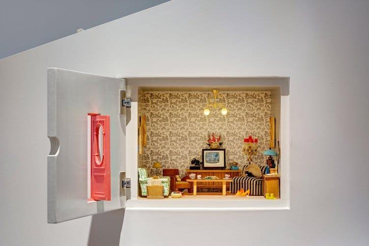 Оригинальный интерьер дома для котовладельцев