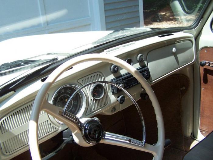 Интересный пикап Volkswagen Beetle 1969