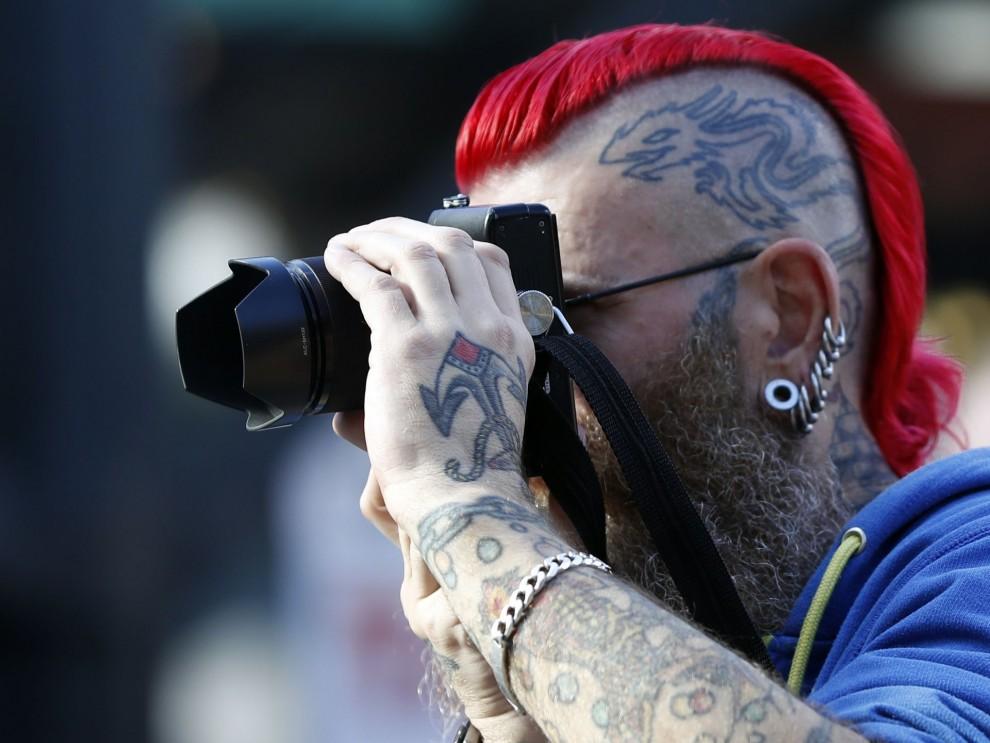 Международный фестиваль татуировок в Лондоне