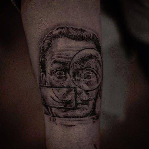 Потрясающие татуировки Инала Берсекова