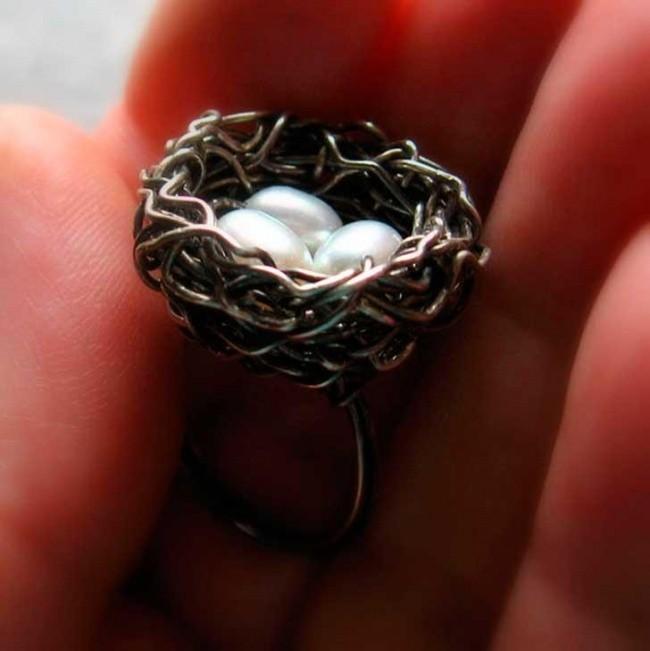Интересные дизайнерские кольца