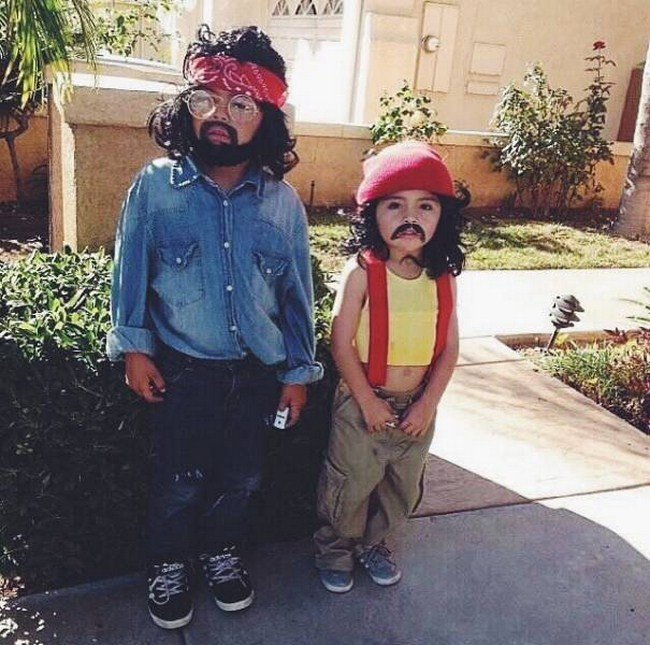 Креативные костюмы на Хэллоуин