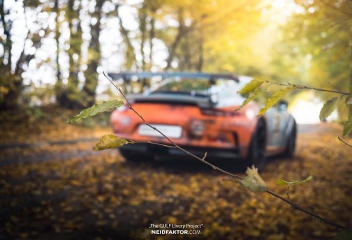 Немцы состарили новый Porsche 991 GT3 RS