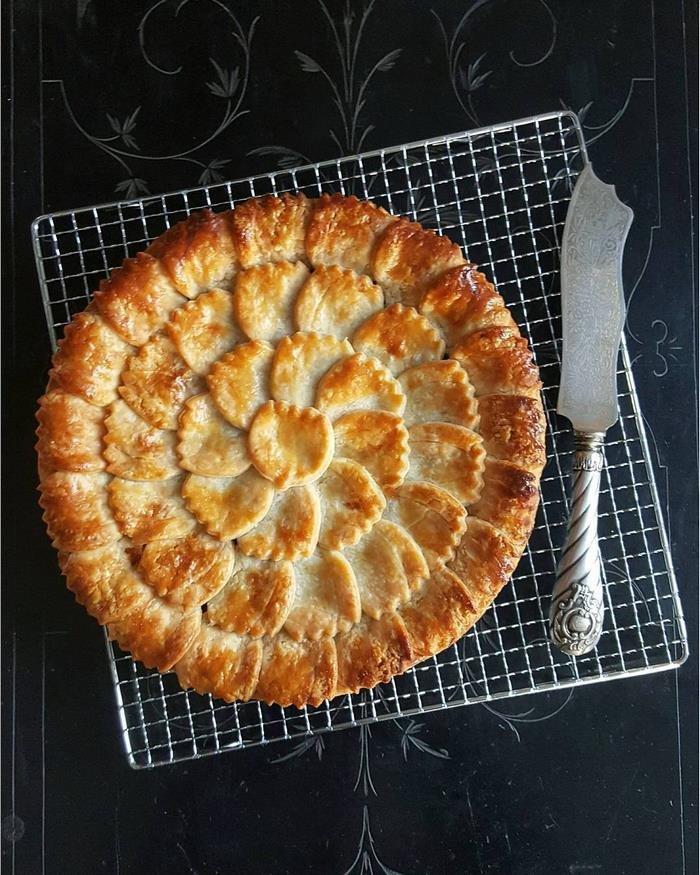 Оформление пирогов от Карин Пфайфф Бошек