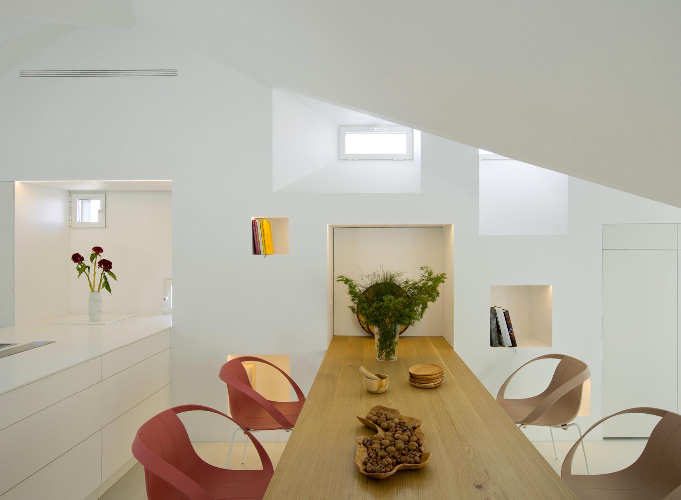 Двухуровневая квартира в Мадриде