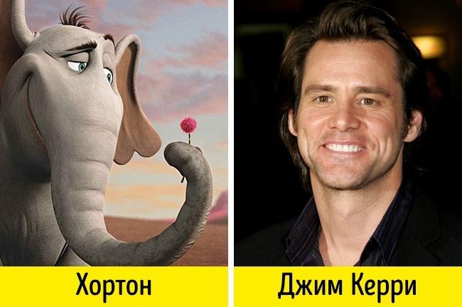 Эти актеры удивительно похожи на персонажей, которых они озвучивали