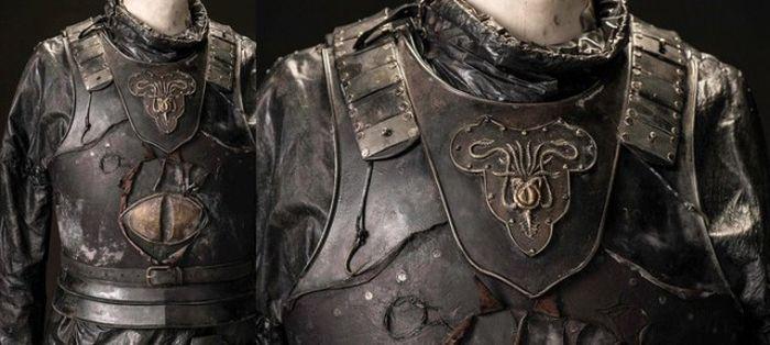 Доспехи героев из Игры престолов