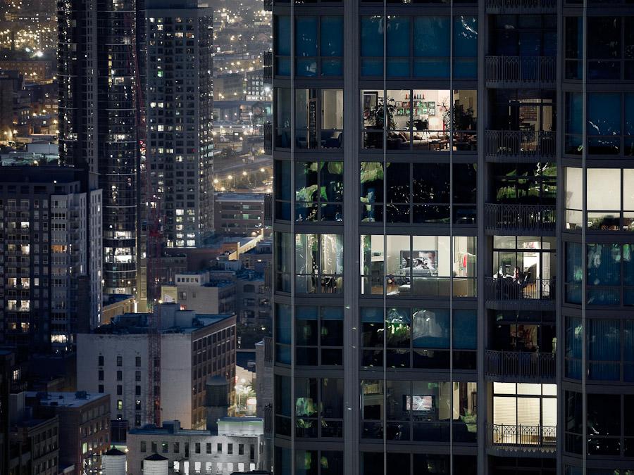 Городская жизнь в фотозарисовках Михаэля Вольфа