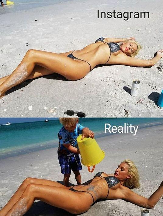Идеальные фото для соцсетей в реальности