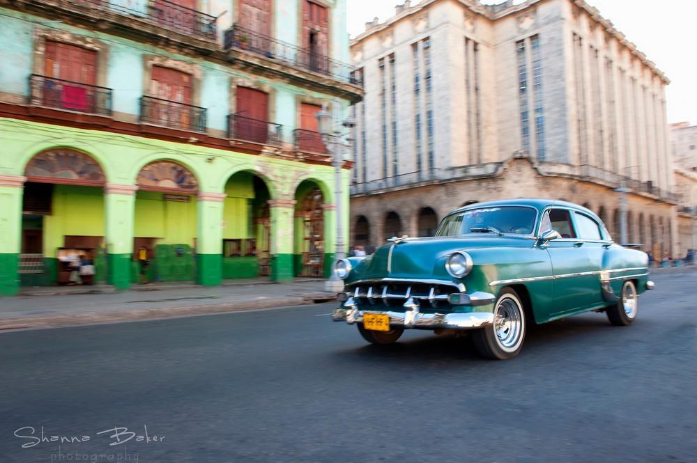 Куба в объективе Шэнны Бэйкер