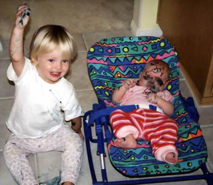 Дети, которые похоже не хотели иметь брата или сестру