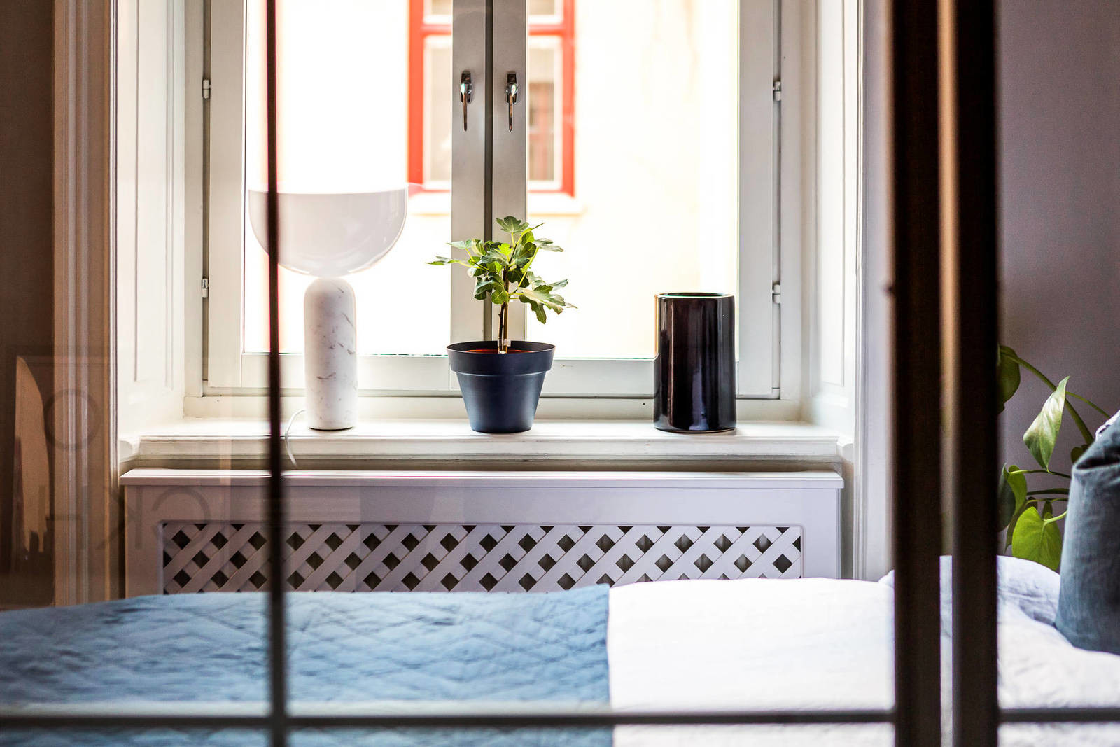 Квартира-студия площадью 39 квадратных метров в скандинавском стиле