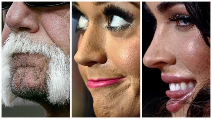 Неидеальные лица знаменитостей