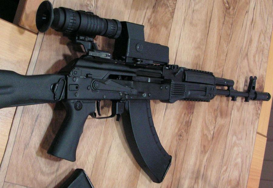 Неизвестные автоматы Российской армии