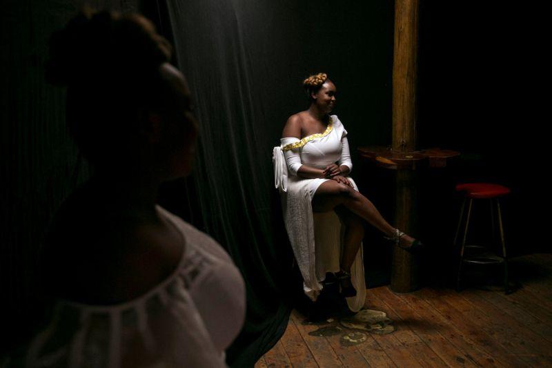 Конкурс красоты среди кенийских пышек