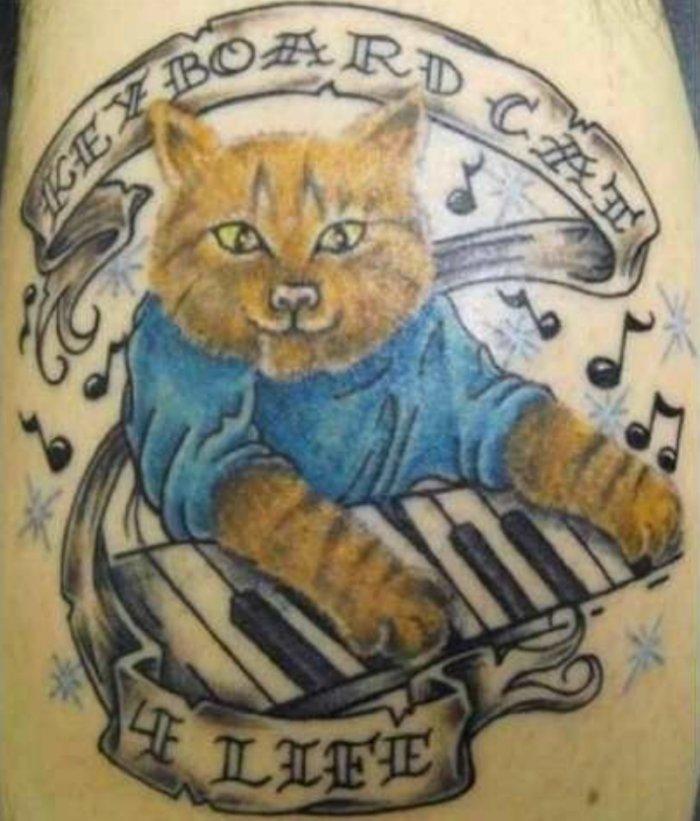 25 худших татуировок с изображением животных