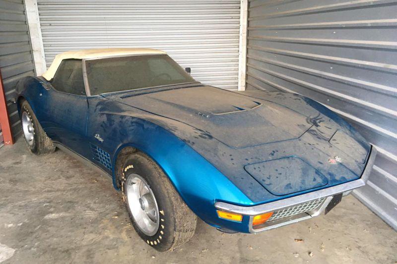 Редкий суперкар простоял в гараже 45 лет