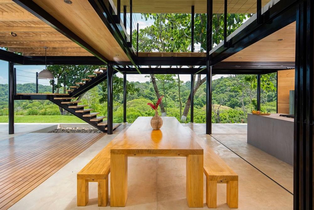 Дом на берегу Тихого океана в Коста-Рике