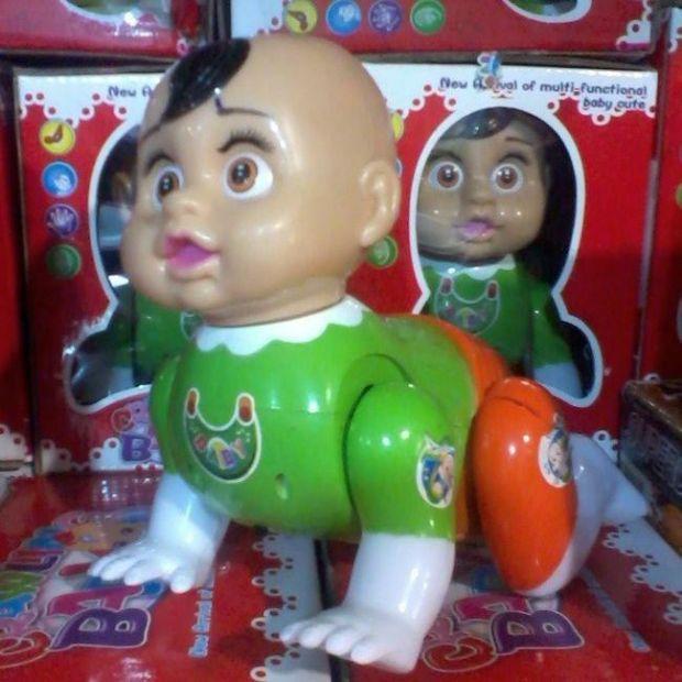 Странные и жуткие детские игрушки