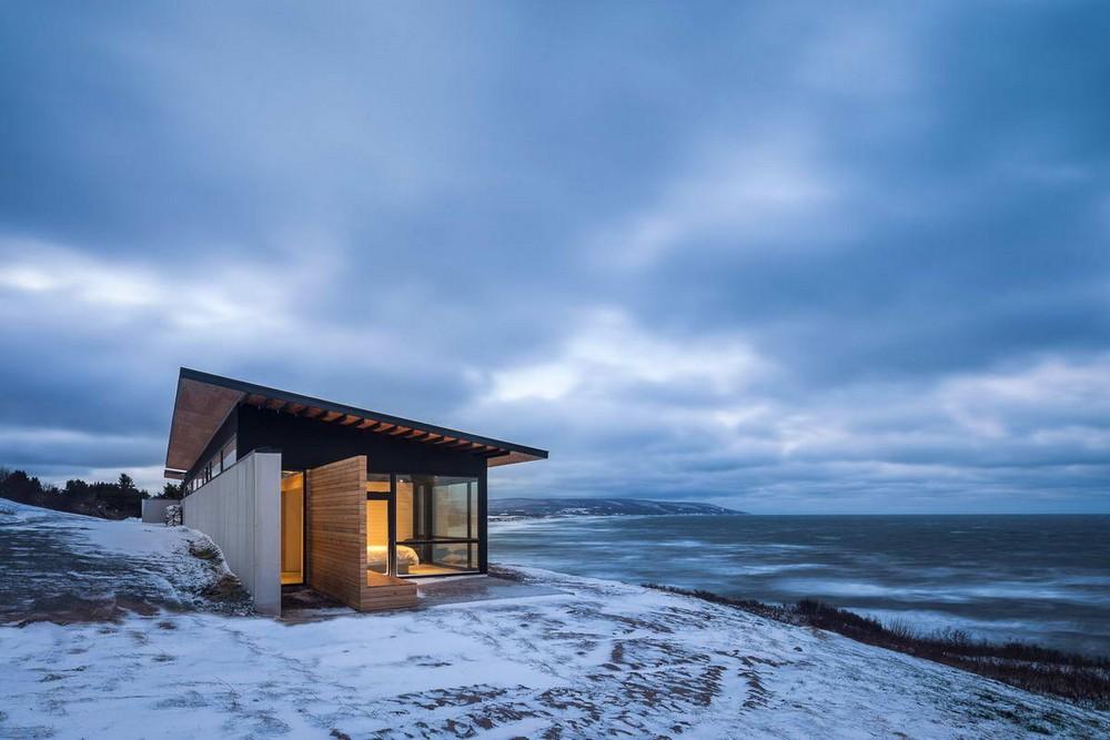 Дом у океана в Канаде