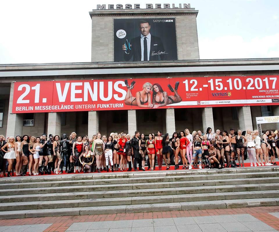 Международная эротическая ярмарка Venus 2017 в Берлине