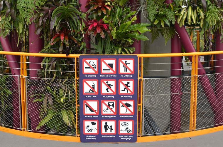 Чего не стоит делать в Сингапуре