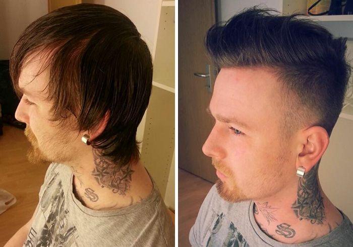 Как меняется мужчина, отказавшийся от длинных волос