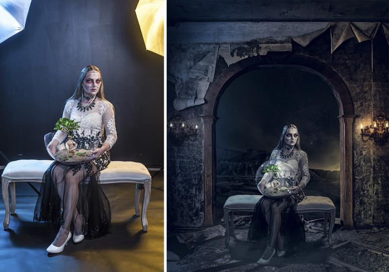 Как обычные фотографии превращаются в фантастические миры