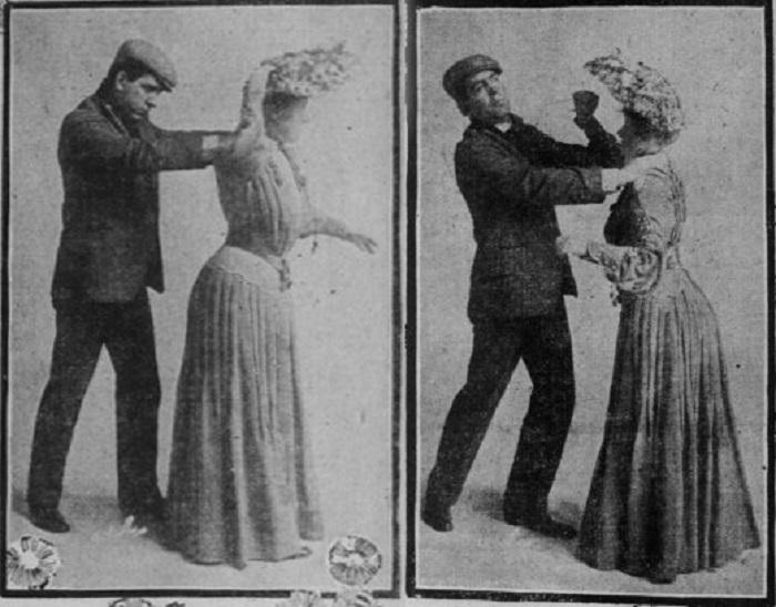 Орудие самообороны модниц прошлого века