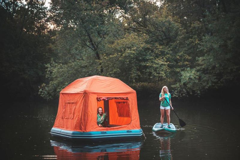 Плавучая палатка для кемпинга