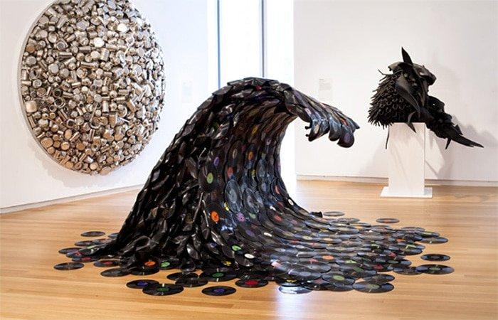 Произведения искусства из самых необычных материалов