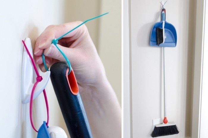 20 способов применения кабельных стяжек