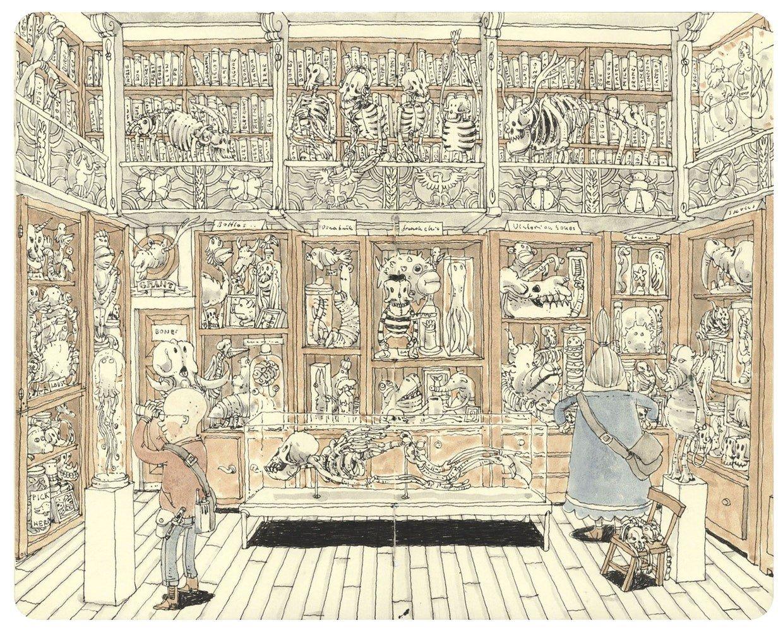 Невероятная детализация в иллюстрациях Маттиаса Адольфссона